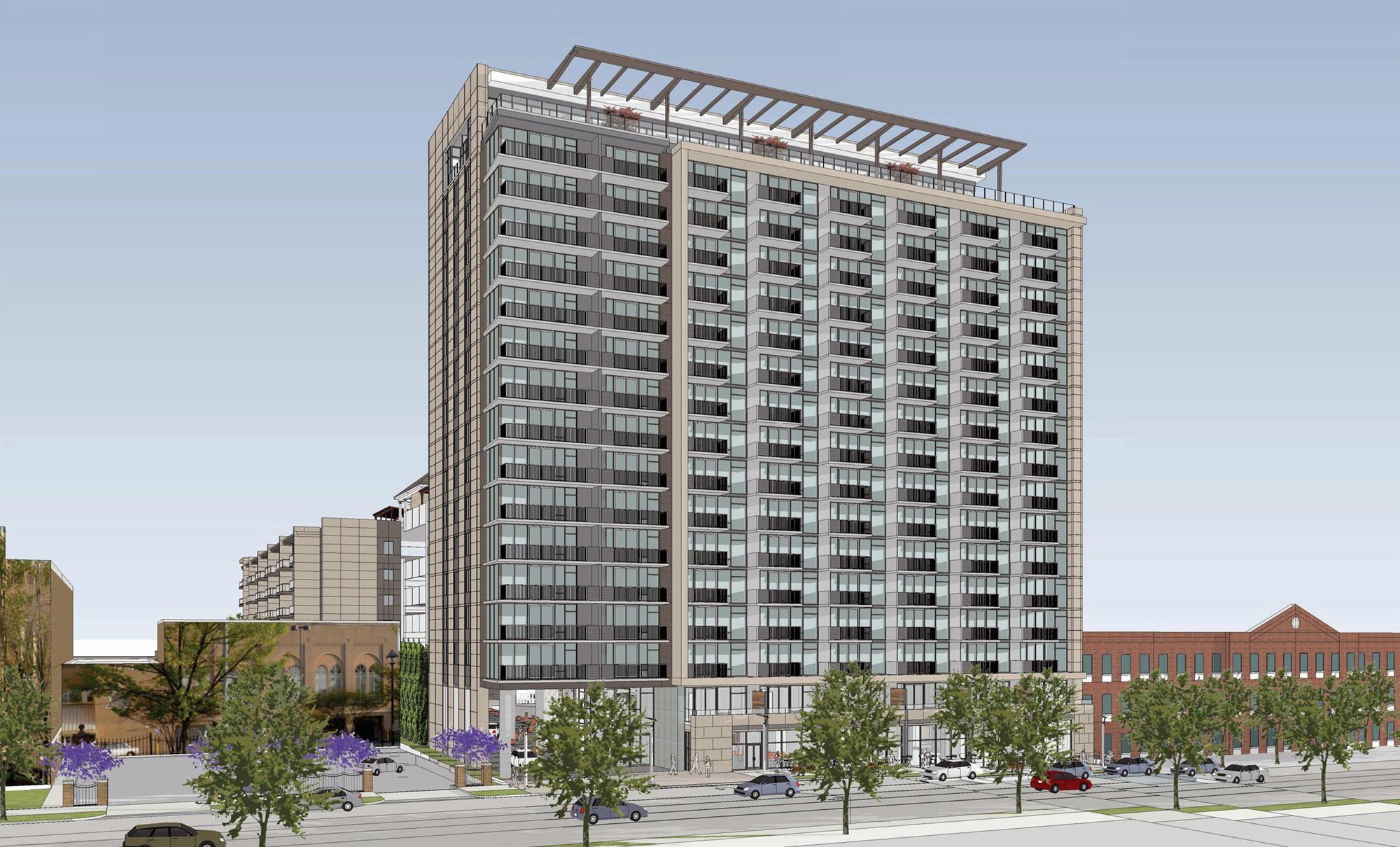 17-story Luxury Apartment Complex Vesta Moves Forward in