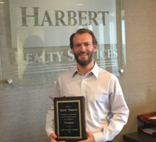 Tanner Sumners Receives Recognition for Service as 2017 NAIOP Alabama Chapter President