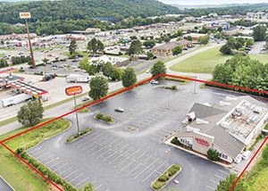 Just Closed: Former Golden Corral Property at the Intersection of Highway 119 and I-65